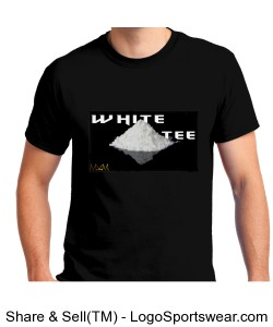 Official White Tee by Michael Khora Clothing Design Zoom