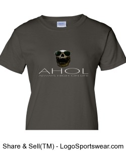 THE ULTIMATE AHOL Ladies T-shirt BY GILDAN AND MICHAEL KHORA MEDIA Design Zoom