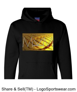 Get Rich Hoody by Michael Khora Clothing Heavyweight Pullover Hooded Sweatshirt Design Zoom