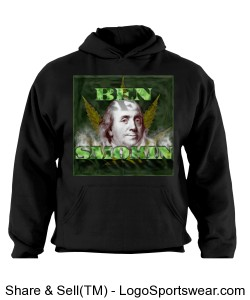 Ben Smokin Hoody by Michael Khora Clothing and Russell Design Zoom