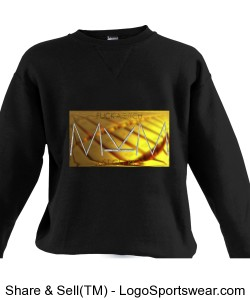 Get Rich Crewneck by Michael Khora Clothing Adult Russell Dri POWER Crewneck Sweatshirt Design Zoom