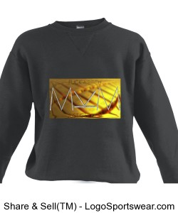 Get Rich Crew Adult Russell Dri POWER Crewneck Sweatshirt by Russell and Michael Khora Clothing Design Zoom
