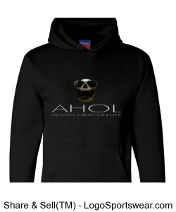 CHAMPION BRAND ULTIMATE AHOL HOODY BY MICHAEL KHORA - ALWAYS HIGH ON LIFE Design Zoom