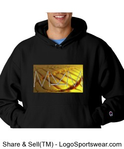 Get Rich Hoody by Michael Khora Clothing Reverse Weave Hooded Champion Sweatshirt Design Zoom