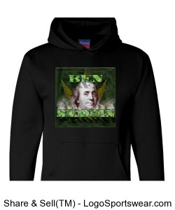 Ben Smokin Hoody by Michael Khora Clothing and Champion Design Zoom