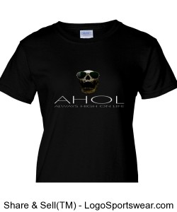 THE ULTIMATE AHOL Ladies T-shirt BY Gildan AND MICHAEL KHORA Design Zoom